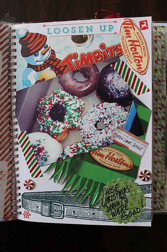 SMASHing Tim Horton's in  my Holiday SMASHbook