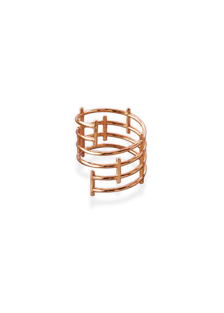 Criss Cross Ring by SMITH/GREY