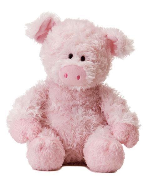 "12"" Aurora Plush Pig Pink Tubbie Wubbie Stuffed Animal Toy Barnyard Farm NEW #Aurora"