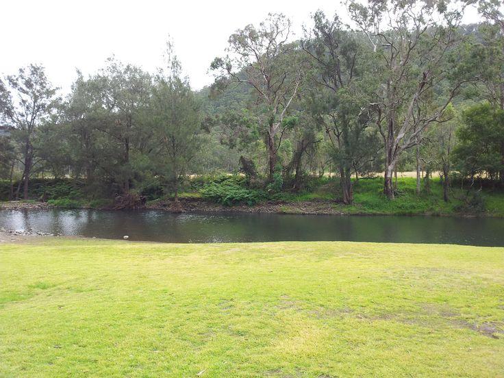 Camping at Goomburra creek QLD