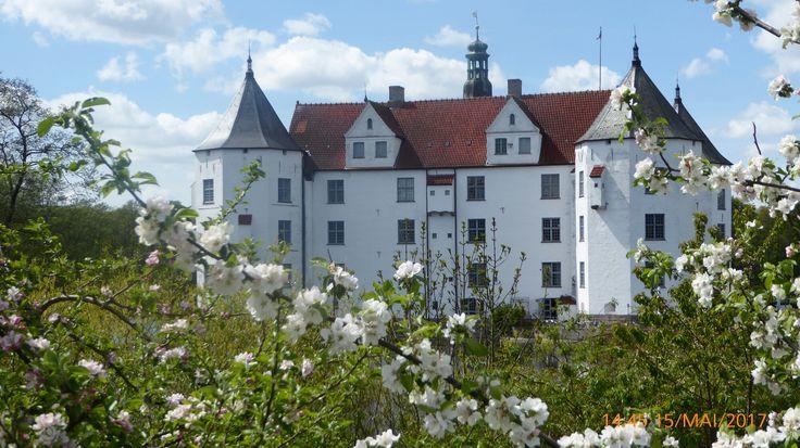 Schloss Glücksburg in Schleswig-Holstein Mai 2017