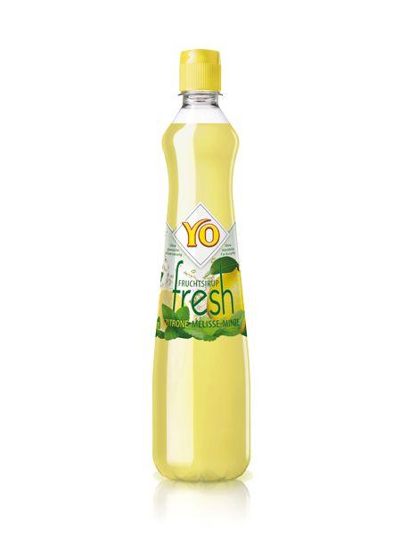 Sirup Yo, citron, meduňka, máta, zitrone-melisse-minze-fresh