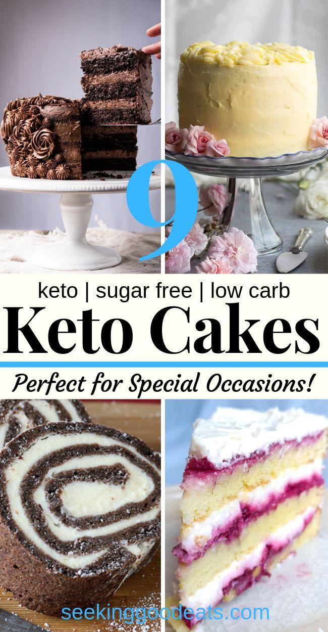 Low Carb und Keto Cake Rezepte