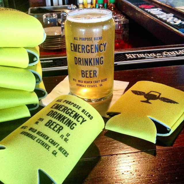 2 dolla #emergencydrinkingbeer here at @therebrookhaven. And they've been roasting a pig since 8am. Koozies and other treasures all day, come on out and hang #Brookhaven neighbs! #gabeer #serveyourneighbor #craftbeer #beeremergency