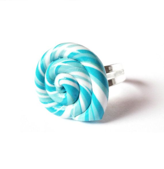 Blue Lollipop Ring