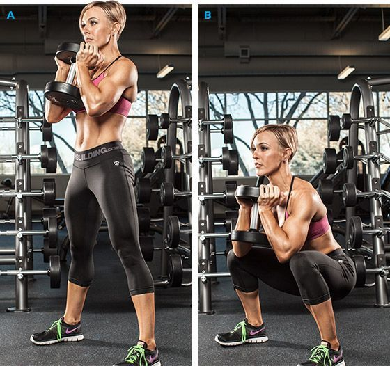 Bodybuilding.com - Why Women Should Lift Weights -- Workout routine for girls who are just starting out and want to hit the major muscle groups a few times per week.