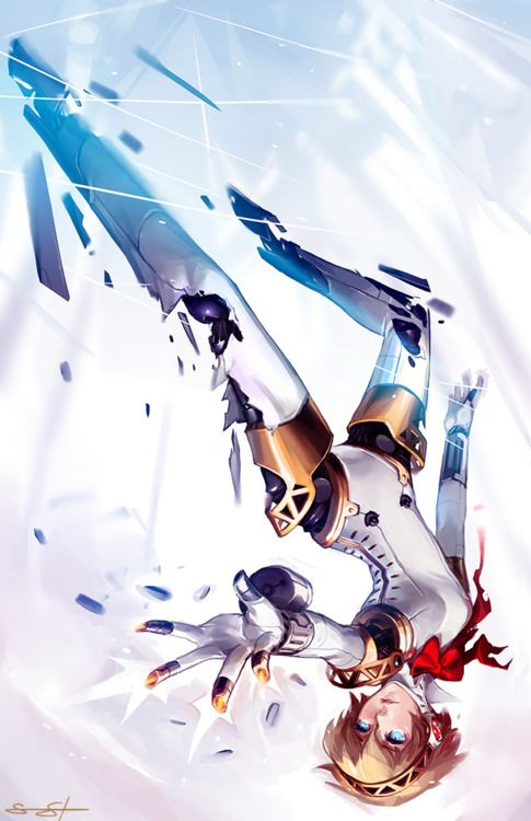 Aegis is such an AMAZING character I'm honestly surprised that she wasn't a social link in the original Persona 3 but not that that matters anyway because they corrected that in FES and that's all that matters aha