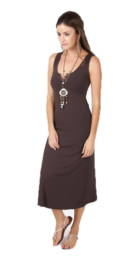 Don't you just love relaxed comfort in a garment? Especially when it is stylish too and our new Henley Tank Dress delivers all of this and more! Ideal for the heat over the hotter months, it is a wardrobe must have for any woman that you'll turn to again and again.