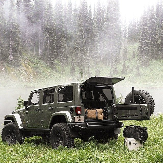 On the holiday wish list: The new AEV @filson1897 Jeep Wrangler.