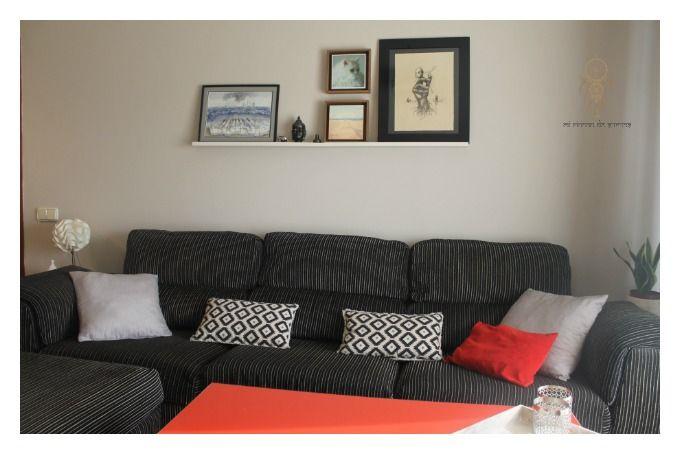 MI RINCÓN DE SUEÑOS: Decorar la pared del sofá