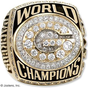 1997 Green Bay Packers NFL Super Bowl Championship Ring - Championship Rings for Professional Sports - Jostens - NFL , NHL, NBA & MLB Championship Rings