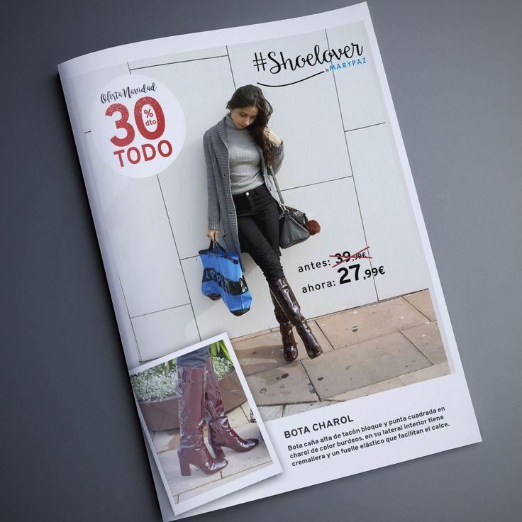 TODO 30% DTO. ¡¡OFERTA NAVIDAD by MARYPAZ!! En tiendas y MARYPAZ.COM  Nuestra #Shoelover Hablandodemodachic ya se ha hecho con los suyos 💋💋  Hazte con esta BOTA CHAROL aquí ►http://www.marypaz.com/woman/bota/bota-bloque-0135616i126-75215.html  #SoyYoSoyMARYPAZ #Follow #winter #love #fashion #colour #tendencias #marypaz #locaporlamoda #BFF #igers #moda #zapatos #trendy #look #itgirl #invierno #AW16 #igersoftheday #girl  **Promoción válida hasta el 31 de diciembre en tiendas físicas y 02 de…