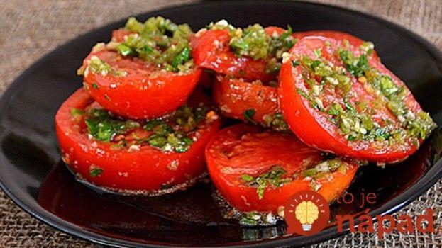 Vynikajúce marinové paradajky