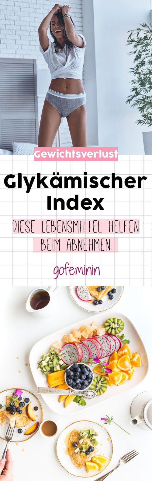 Mit dem glykämischen Index soll die Lust auf Süßes, Fast Food und Co. verhindert werden und damit überschüssige Pfunde verschwinden. #abnehmen #gewichtsverlust #diaet #glykaemischerindex