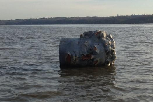 NY rowing crew finds floating 'giant head' during practice | New ...