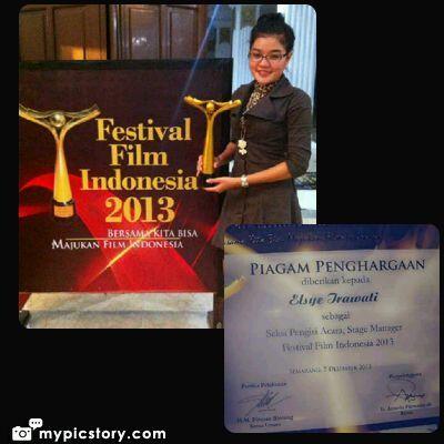 FESTIVAL FILM INDONESIA 2013 WITH ELSYE IRAWATHY @SEMARANG