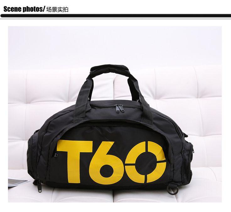 2016 New Brand Women Gym Bags T60 Waterproof Outdoor Men luggage/travel Bag/ Backpack Multifunctional Sport Bag Green Duffle Bag
