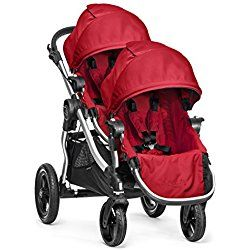 Baby Jogger City Select with Second Seat, Ruby Red