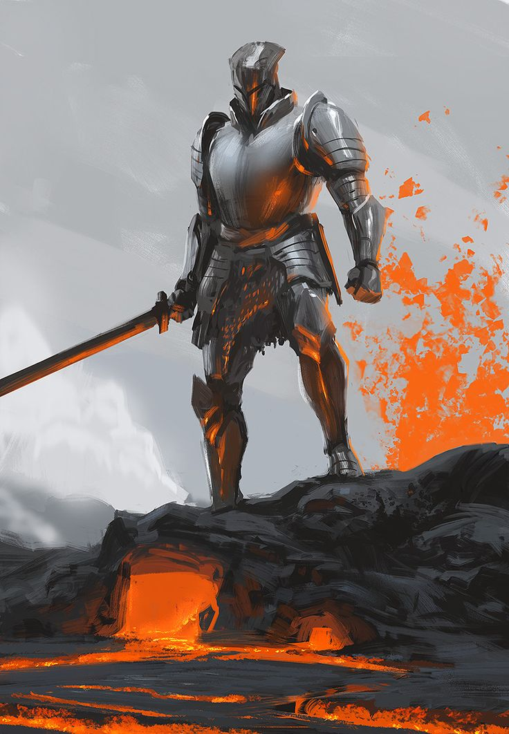 Pin by Terrence Ngo on Reference   Knight, Knight drawing ...