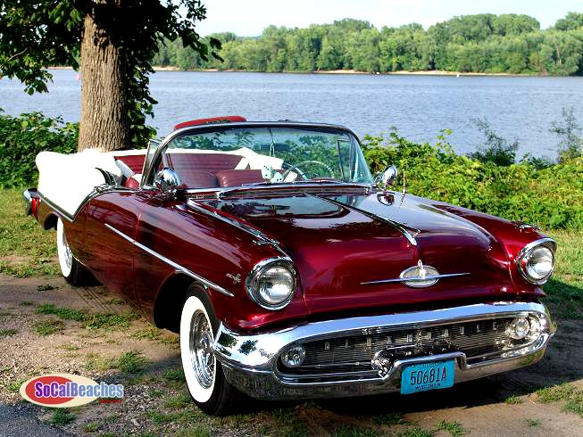 1957 Oldmobile 88 Convertible…Dropped at you by Home of Insurance coverage in Eugene, …
