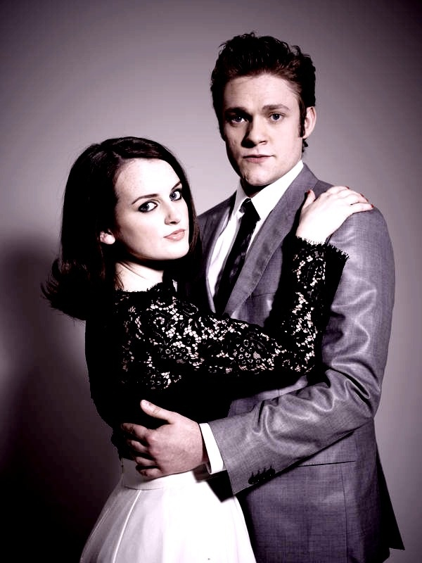 2/10/2014 11:45am ''Downton Abbey'' Daisy and William. Completely out of Character. Sophie McShera and Thomas Howes 2/20/14 11:35p