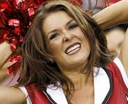 An Arizona Cardinals cheerleader, who also served in the Army in Iraq, has been charged with alleged assault on her boyfriend. ~ updated August 3, 2013