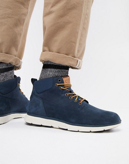 5e53c135a85f Timberland Killington chukka boots in navy