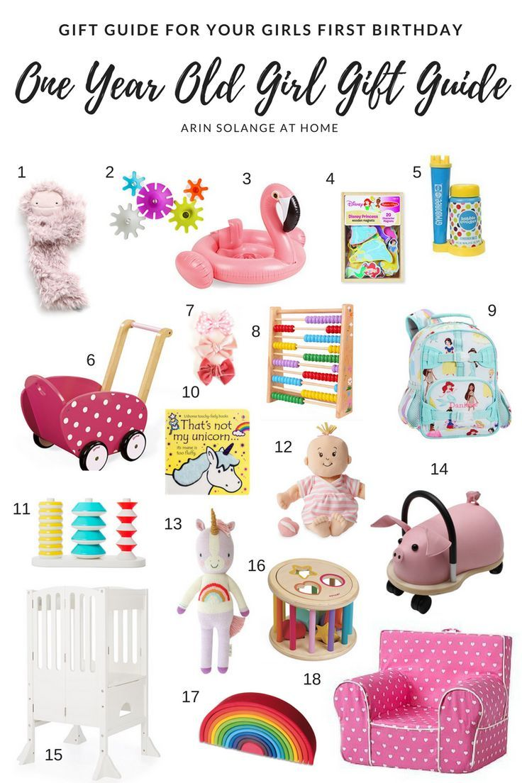 One Year Old Girl Gift Guide One year old gift ideas