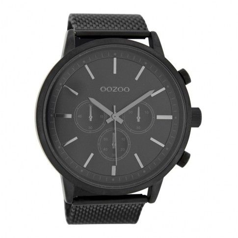 OOZOO Timepieces Zwart horloge C8264 (48 mm)