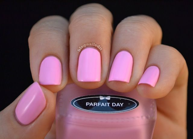 Lime Crime's Parfait Day. Looks similar to the OPI's Pink Friday. I love it!