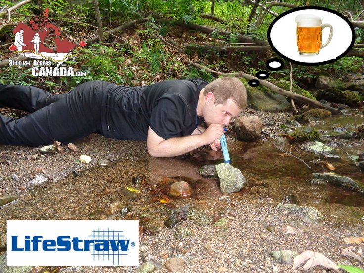 Meme sponsored by #LifeStraw  #expedition #equipment