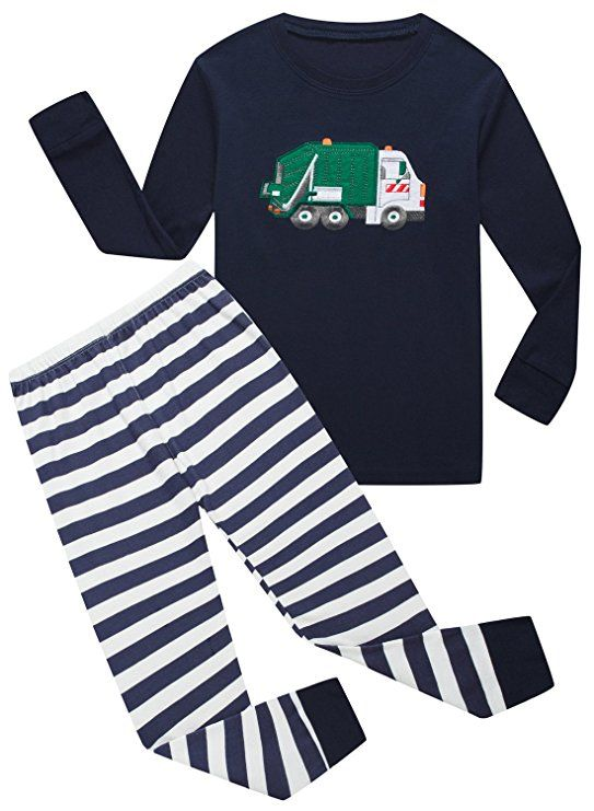 068d843a4 LOVING these Garbage Truck Pajamas for Max! IF Pajamas Baby Boys ...