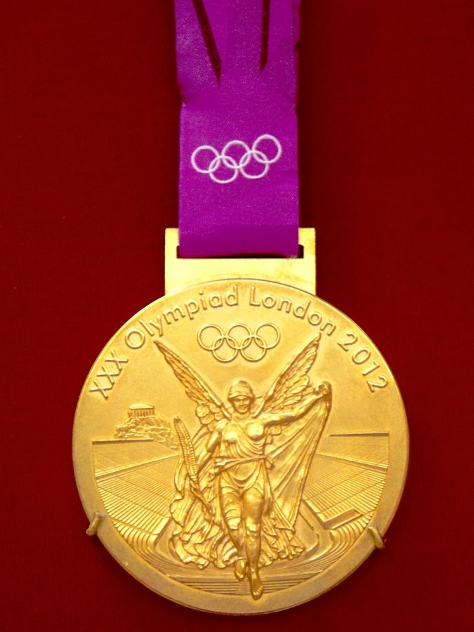London Olympic Medal Never really saw one up close!