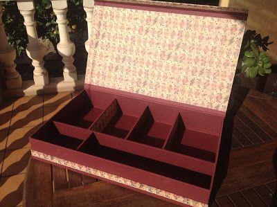 Caja para los juegos de mesa