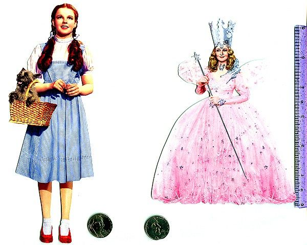 Wizard of oz characters wizard of oz large diecuts dorothy or