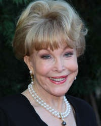 Barbara Eden and her string of pearls . . . .