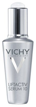 LOVE this serum. it plumps and blurs my fine lines almost instantly, and I love what it does to my overall skin texture. (vichy liftactiv serum).