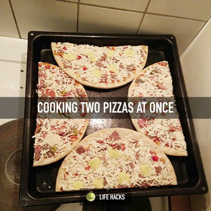 How To Cook Two Pizzas At Once