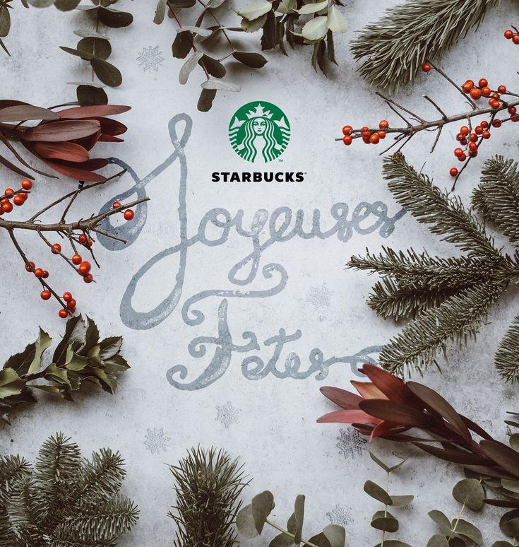 Animation des réseaux sociaux de la franchise Starbucks Toulouse à travers les voeux de fin d'année