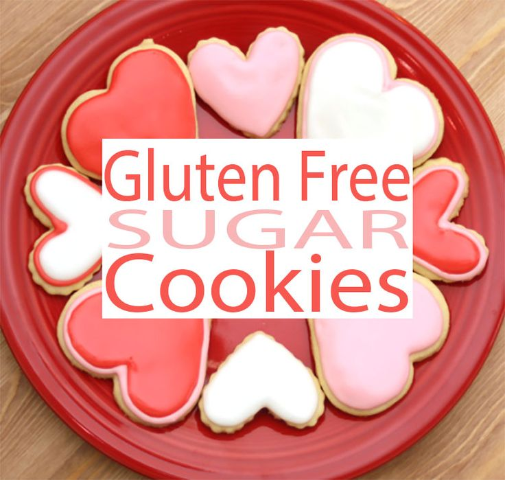 VALENTINES GLUTEN FREE RECIPES like these gluten free sugar cookies are amazing. You don't have to worry about finding a gluten free cookie recipe any more. #AllSheCooks
