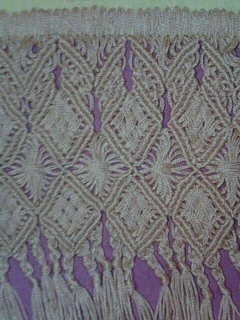 1000 images about macrame en pinterest macram tapices - Tapices de macrame ...