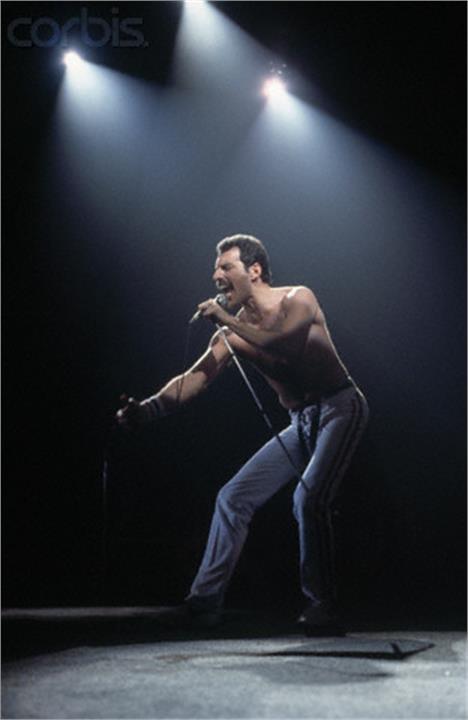 Freddie Mercury Also see #music #screen savers at…