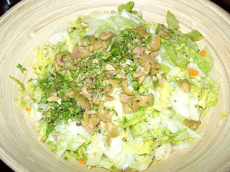 """Vegetarischer """"Hack-Salat"""""""