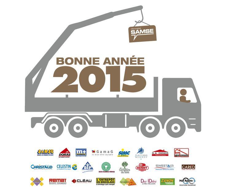 Le Groupe SAMSE vous souhaite une très belle année 2015 : découvrez nos métiers et nos entreprises.