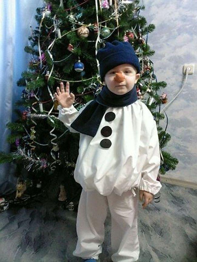 расположена сделать костюм снеговика своими руками фото велосипеды