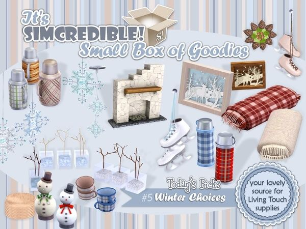 Winter Choices by SIMcredible at TSR - Sims 3 Downloads CC Caboodle