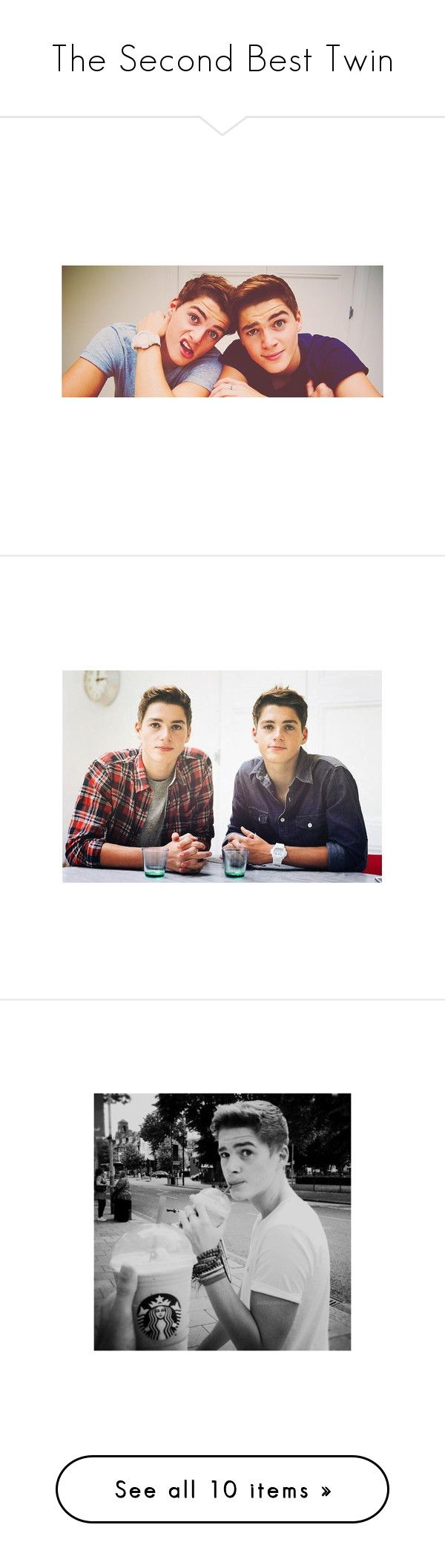 """The Second Best Twin"" by amazinglilyisnotonfire ❤ liked on Polyvore featuring youtubers, jack and finn, pictures, boys, people, jack & finn harries, harries twins, backgrounds and guys"