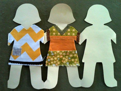 How to Cut a Chain of Paper Dolls