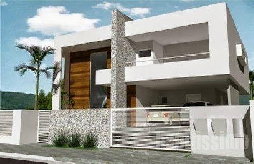 Fachadas de casas modernas casas sem telhado ideias for Fachadas viviendas modernas