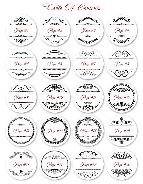 These free printable round labels are ready to be filled with your information fillable and